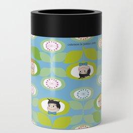 mabo & jimmy garden - blue Can Cooler