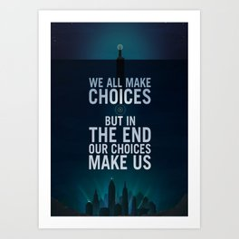 Bioshock Rapture Quote Art Print