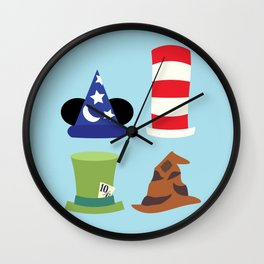 Magic in a Hat Wall Clock