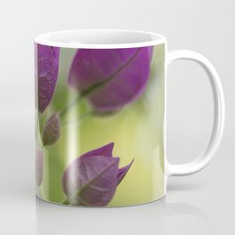 Purple Bougainvillea Coffee Mug
