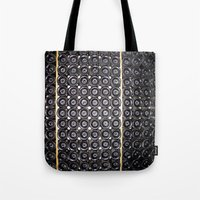 wine Tote Bags featuring Wine by Alev Takil