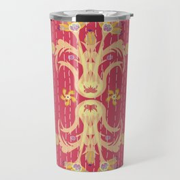 Kantha bouquet 7 Travel Mug