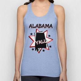Alabama State Pride T-shirt Unisex Tank Top
