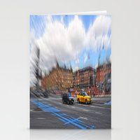 street Stationery Cards featuring street by  Agostino Lo Coco