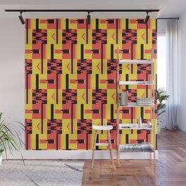 Kente Pattern Design Wall Mural
