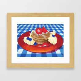 Pancakes Week 10 Framed Art Print