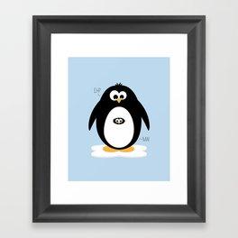 Penguin-egg  Framed Art Print