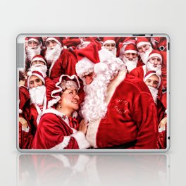 Santa Claus and Mrs. Claus Laptop & iPad Skin