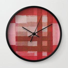 Urban Intersections 6 Wall Clock