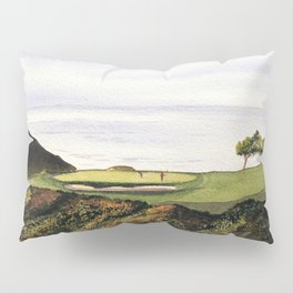 Torrey Pines South Golf Course Hole 3 Pillow Sham