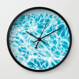 Underwater Photo Swimming Pool Wall Clock