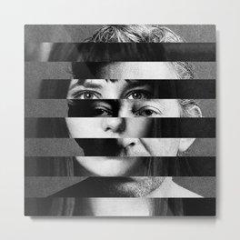 Jane x Serge Metal Print