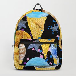 Univers with Planet of the solar system. Backpack