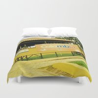 colombia Duvet Covers featuring A park in my Colombia. by Alejandra Triana Muñoz (Alejandra Sweet