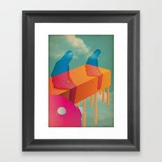 l a s s ù Framed Art Print