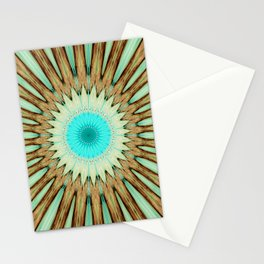Seamless Kaleidoscope Colorful Pattern LIX Stationery Cards