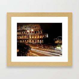 Roma, Colosseo   Rome, colosseum Framed Art Print