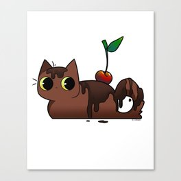 Chocolate Tabby Canvas Print