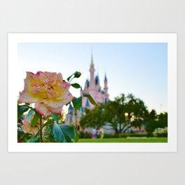 Castle/ Magic Kingdom Art Print