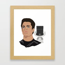 The Young Kirk Framed Art Print