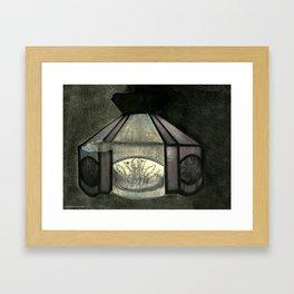 Kitchen Light Framed Art Print