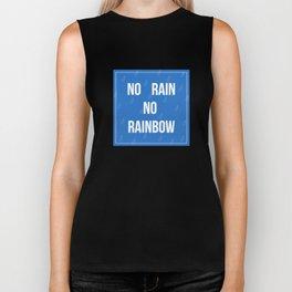 No Rain No Rainbow Biker Tank