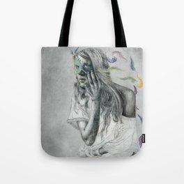 Floats Away Tote Bag