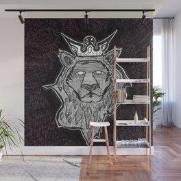 Rebel Lion Wall Mural