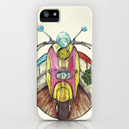 Speed ​​is in everyone. iPhone Case