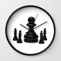 boss Wall Clocks featuring Big Boss by digital2real