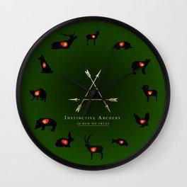 3D targets Wall Clock