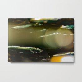 The Bokeh Fish One Metal Print