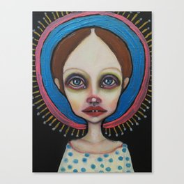 Little holy Canvas Print