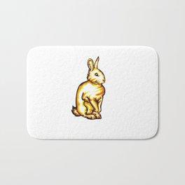 Angry Bunny Bath Mat
