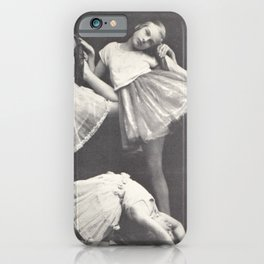 1925 Dance Class, Berlin, Antique Photograph iPhone Case