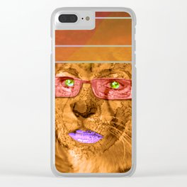 Her Universe is an untouchable Universe Clear iPhone Case