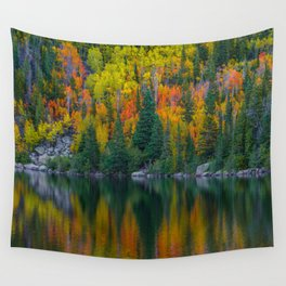 Reflections of Autumn Wall Tapestry