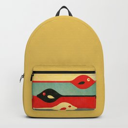 Three Fish in My Mind Backpack