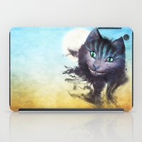 cheshire cat iPad Cases featuring Cheshire Cat by Diogo Verissimo