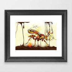 Wasp Framed Art Print
