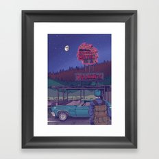 VACANCY Framed Art Print