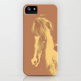 Double Pony iPhone Case