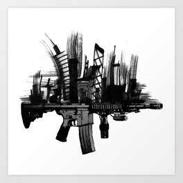 What's Your Ammo? Art Print
