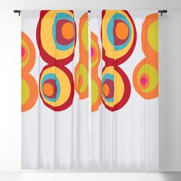 8 Balls Blackout Curtain