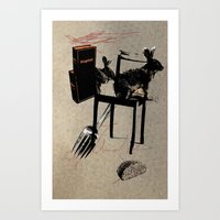 bread Art Prints featuring Bread by Paul Prinzip
