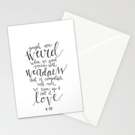 Call It Love | Dr. Seuss Print Stationery Cards