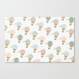 baloon collage pattern  Canvas Print
