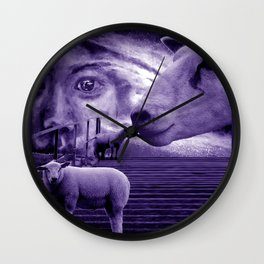 nu consciousness and the sheeps Wall Clock