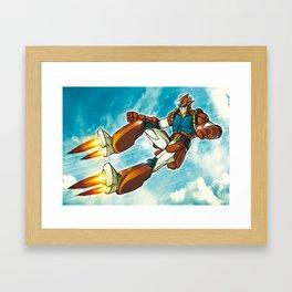Magnetic Sky Framed Art Print