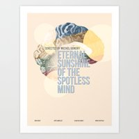 eternal sunshine Art Prints featuring Eternal Sunshine by Alyssa Vance